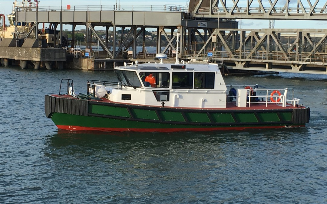 Welsh Workboat Builders Mainstay Marine Deliver Crew Transfer Vessel to Scottish Waters