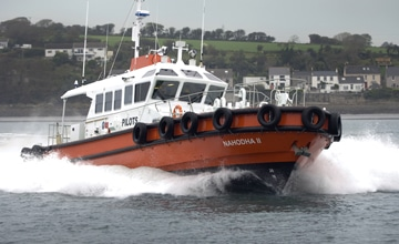 Mustang Marine take on £3.6m pilot boat order for Port of Milford Haven