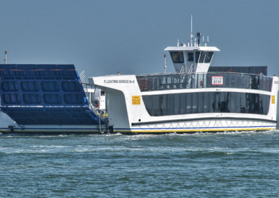 37m Chain Ferry / Floating Bridge for Isle of Wight Council