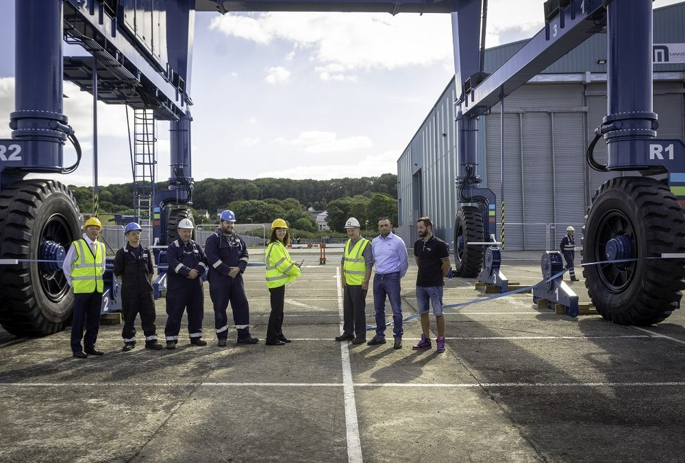 160 tonne boat hoist officially unveiled