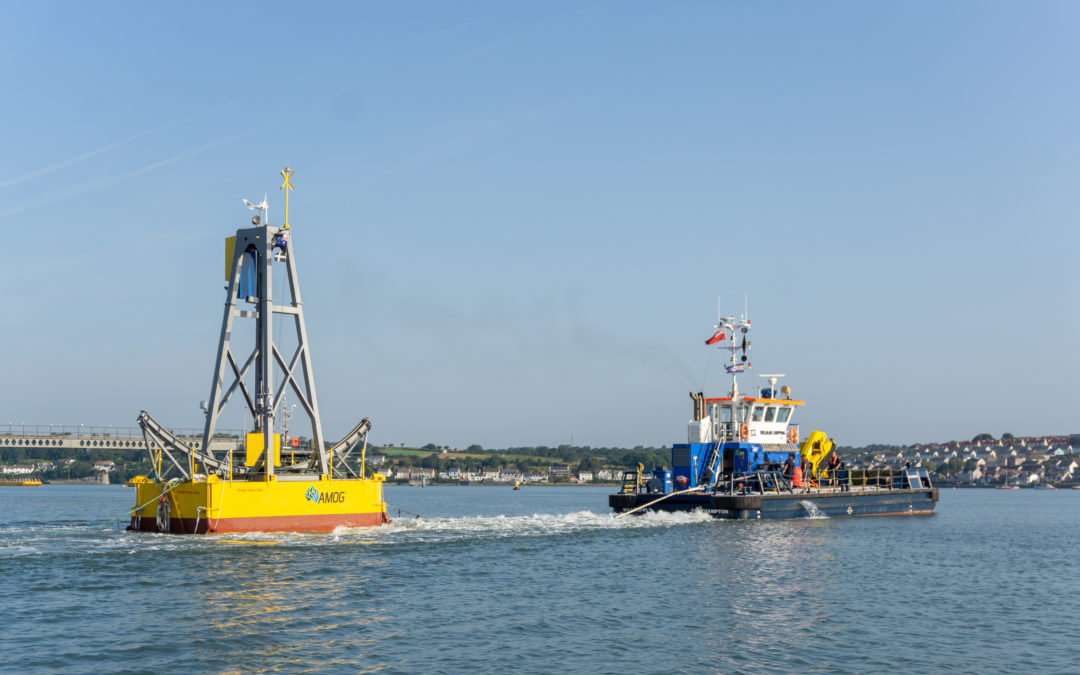 Wave energy demonstrator ready to swing into action