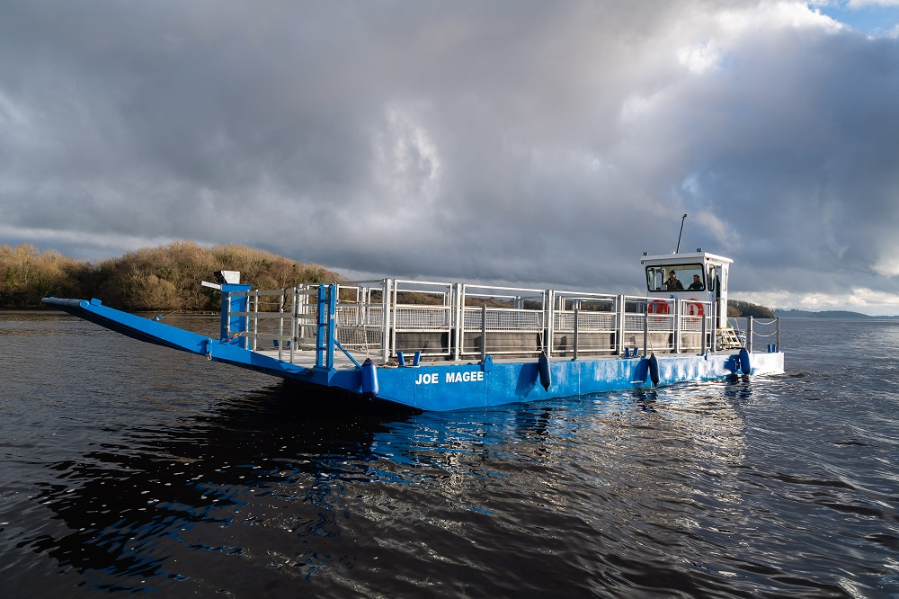 Reconfigurable livestock boat delivered to NI RSPB
